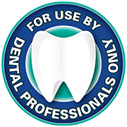 for use by dental professionals only badge
